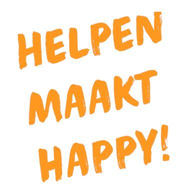 Tekst Helpen maakt Happy